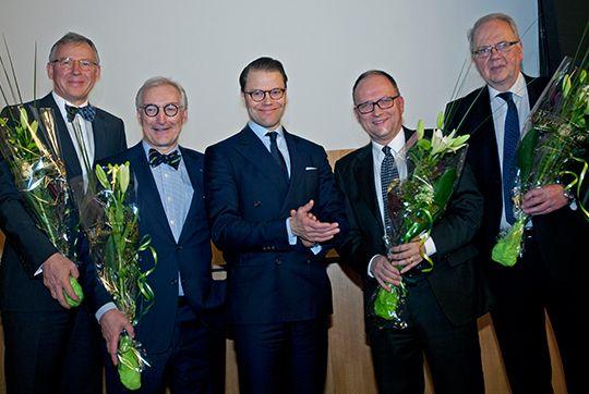 La Cour Royale Suedoise: Le Prince Heritier Daniel participe a la ceremonie de remise de prix du Conseil Nordique de la Medicine