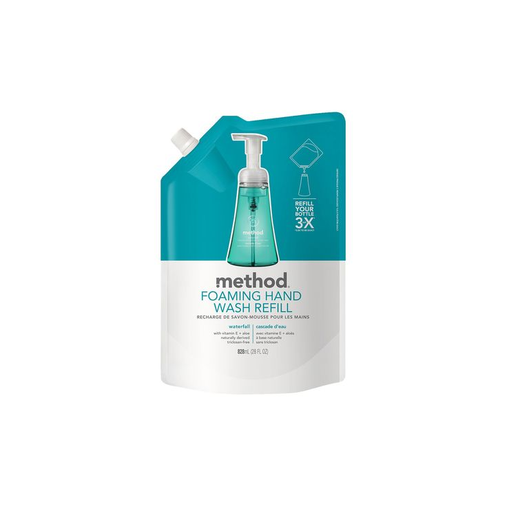 Method Foaming Hand Soap Refill Waterfall - 28oz