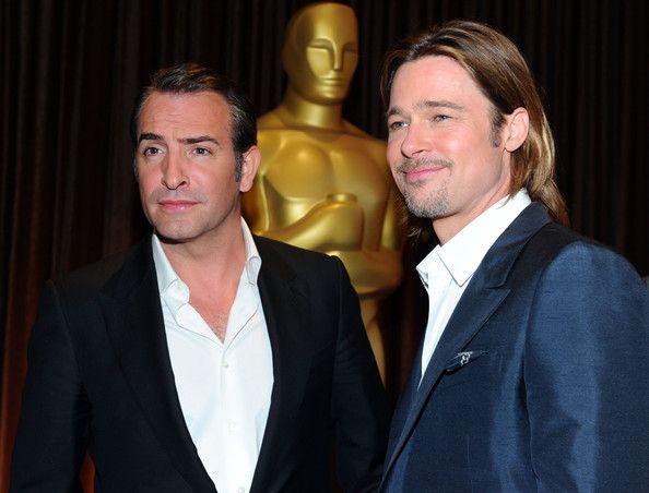 Quem leva Melhor Ator: Jean Dujardin ou Brad Pitt?