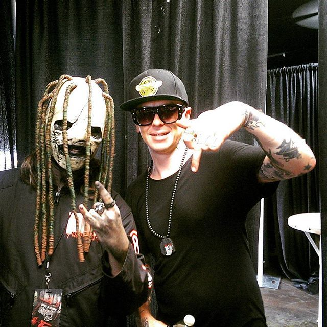 Sid Wilson DJ Starscream Slipknot Corey Taylor #FlashbackFriday to meeting @sidthe3rd when I saw @Slipknot this past October. He wasn't that nice #Slipknot #slipknotfamily #metal #numetal #maggot #maggots #Sid #SidWilson #0 #DJStarscream #Starscream #life #Flashback #Friday #weekend #SummersLastStand #fun #SummersLastStandTour #throwback #CoreyTaylor #CoreyTaylorRock #Corey #8 #Iowa #masks #mask #VIP