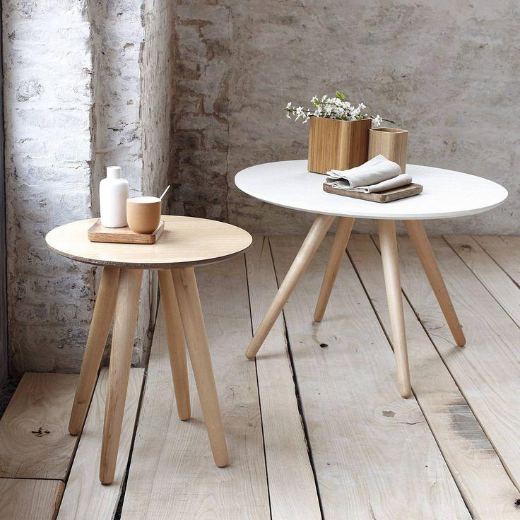 Les 25 meilleures id es de la cat gorie tables gigognes sur pinterest table - Table bois scandinave ...