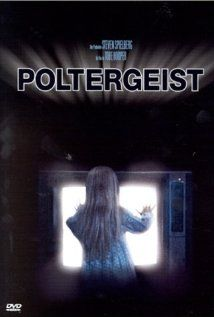 Poltergeist (1982). Long before the ring (where a scary thing comes out of a T.V.), a little girl sort of goes into one. Directed by Steven Spielberg, I do not think that this movie is that scary, but it is a fun, nostalgic haunted house story. I remember enjoying it when I was younger.