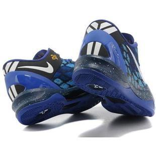 http://www.asneakers4u.com/ Nike Kobe 8 System Basketball Shoe Snake Blue/Black Sale Price: $68.20