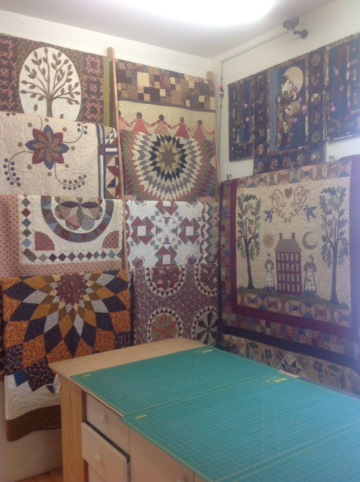 Some of our stunning quilts on display -Magic Patch Quilting