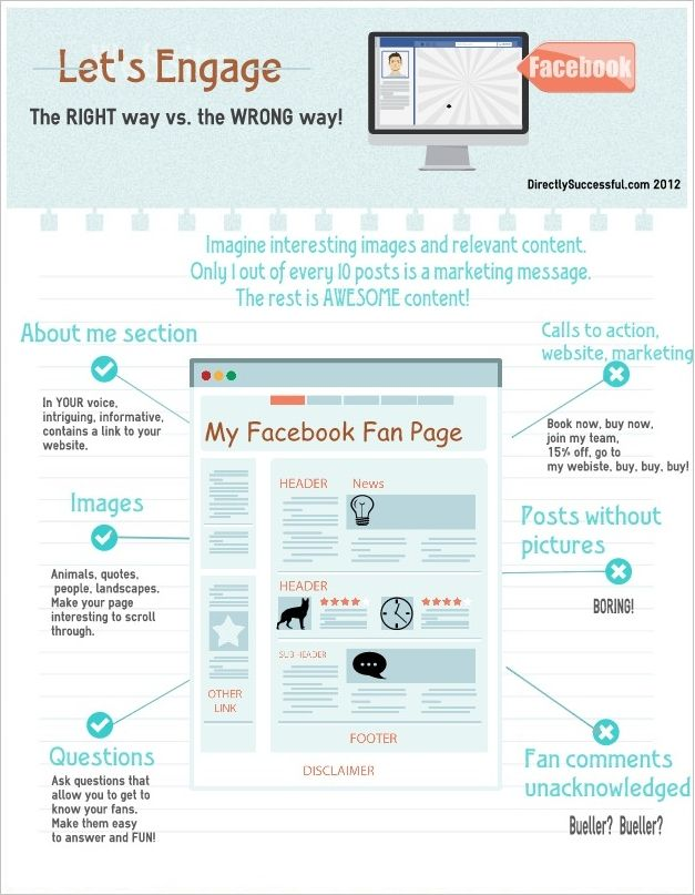 Getting engagement on your facebook page