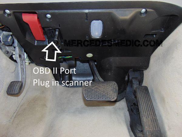 OBD II Port Scanner Mercedes Benz Star Diagnostic