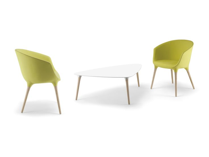 Spring armchairs and table, by Cizeta