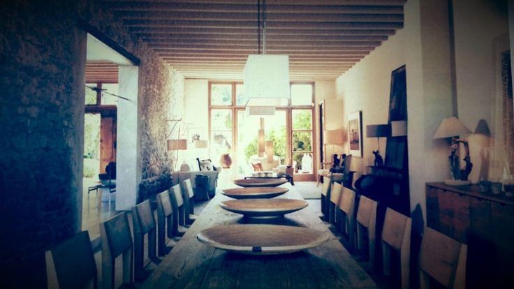Catherine weyeneth bezencon home in france image via for Catherine interior designer grand designs