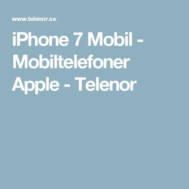 iPhone 7 Mobil - Mobiltelefoner Apple - Telenor