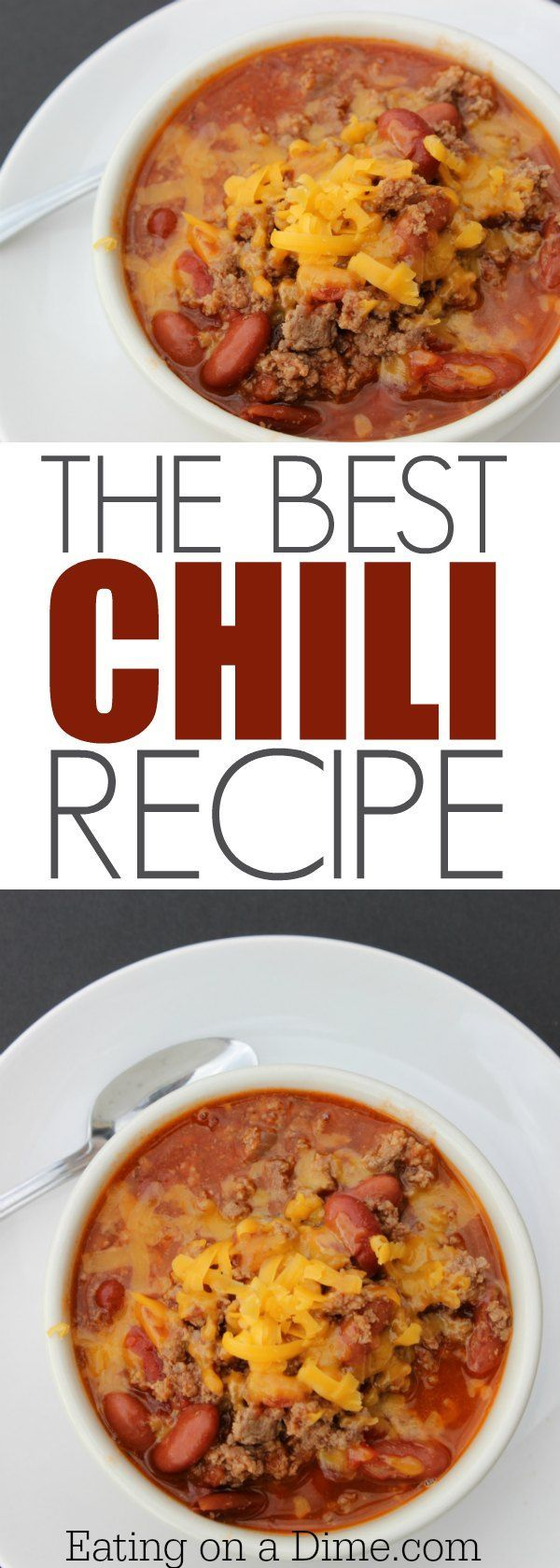 Make this easy quick chili recipe. We call it the amazing chili recipe, because it is that good. Make this easy chili recipe with beans or without beans.