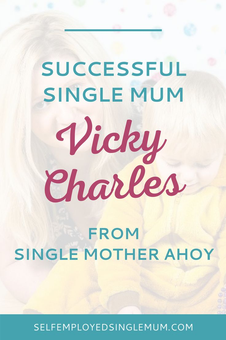 If you're a single mum who thinks self-employment isn't for you - think again! Every month I profile a Successful Single Mum - meet Vicky Charles | single mother, single mom, Single Mother Ahoy, single mum blog, single mom blog, working mother, mumpreneur, entrepreneur, work from home, be your own boss