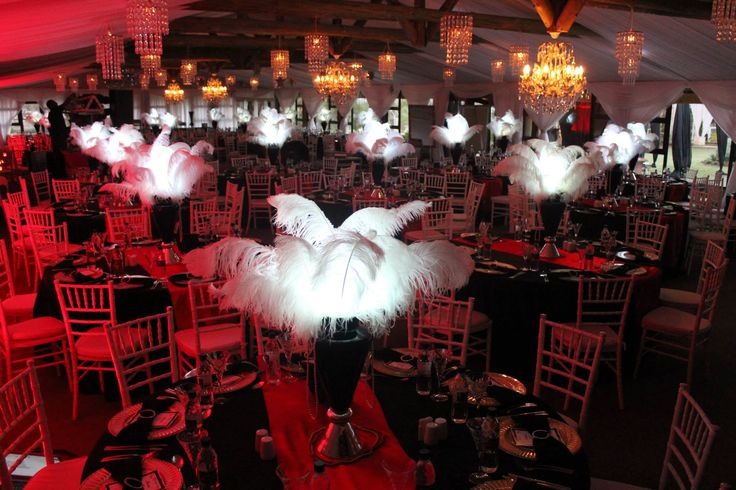 Our own work (by Thandana Weddings). Ladysmith High School Matric Farewell - October 2014