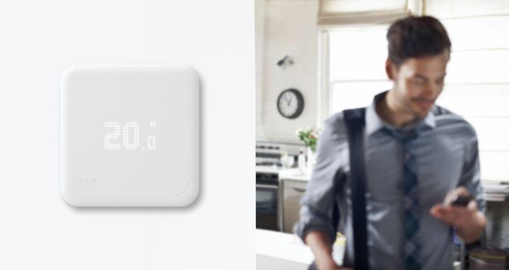 E' disponibile nel nostro negozio #tado° il #termostato intelligente http://goo.gl/UK7pJ5 #riduceconsumi #risparmioenergetico #termostatosmart