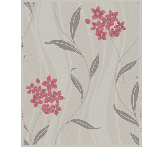 Buy Superfresco Colour Elise Wallpaper - Coral Grey at Argos.co.uk - Your Online Shop for Wallpaper, Wallpaper, painting and decorating, Home improvements, Home and garden.