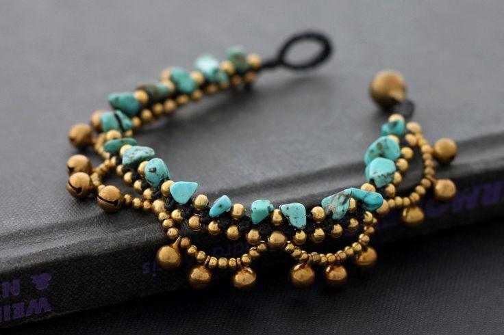 Chandelier Turquoise Bracelet.