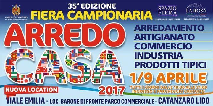 La Fiera Campionaria della città di Catanzaro giunta alla 35^ Edizione cambia location ma non cambia le aspettative dei visitatori. Tante le novità che vi aspettano tutti i giorni dalle 10.30 alle 21.00 orario continuato.