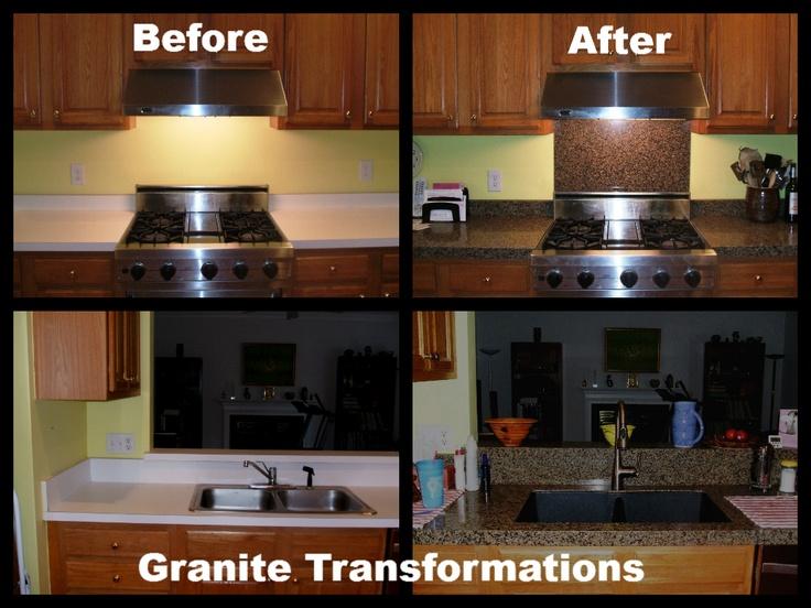 Granite Transformations : ... granite transformations after granite transformations kitchen before