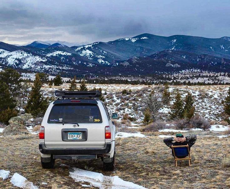 """""""Actually the best gift you have given her was a lifetime of adventures...""""  Lewis Carroll.  @bomberproducts . . . . . #adventure #overland #overlanding #fourwheels #exploring #glamping #aventurerig #mountains #roadtrip #neverstopexploring #mychairworks #blueridgechair #toyota #forerunner #madeinusa"""