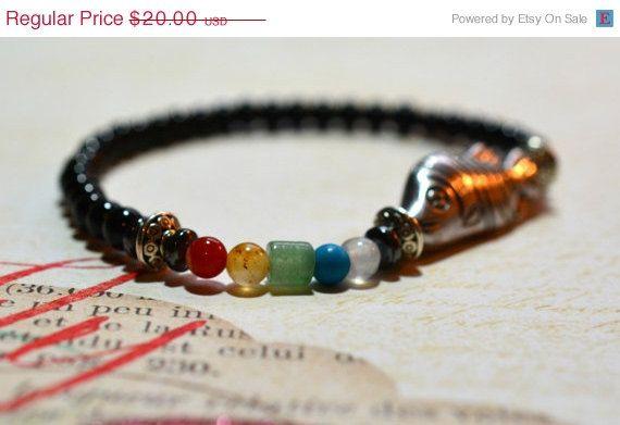 HOLIDAY SALE Chakra Bracelet 7 Chakra Bracelet by GemsandPearlsKC
