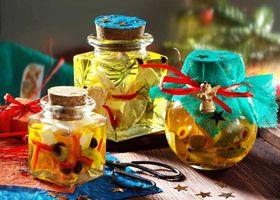 Eingelegtes und Kräuteröle