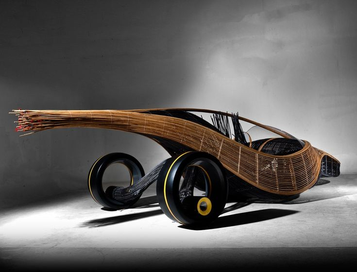 You've seen cars made of carbon fiber. Have you seen one made of bamboo-cane stalks?? The Phoenix does a pretty dapper job of pulling