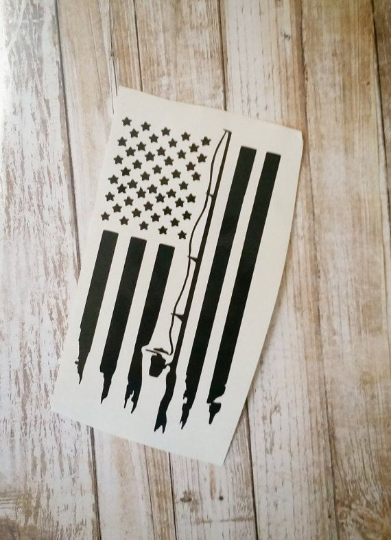 Check out this item in my Etsy shop https://www.etsy.com/listing/472842365/fishing-flag-decal-fishing-tackle-box