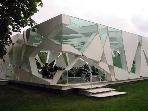 Serpentine Gallery Pavilion, Hyde Park, London, 2002 | Toyo Ito, Cecil Balmond…