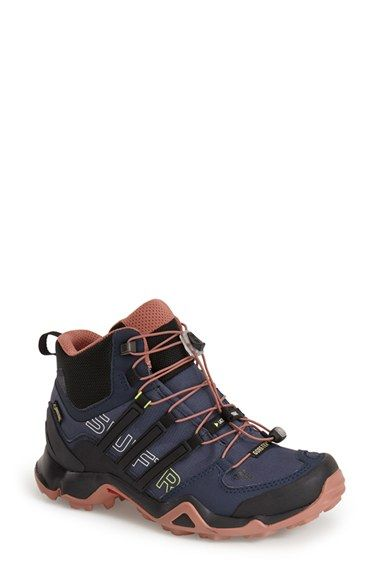 adidas+'Terrex+Swift+R+Mid+GTX'+Gore-Tex®+Hiking+Boot+(Women)+available+at+#Nordstrom