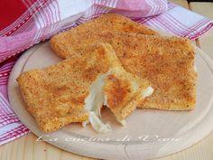 mozzarella in carrozza la forno ricetta per fare la mozzarella in carrozza e cuocerla in forno. ricetta appetitosa facile e veloce cottura in forno