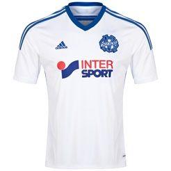 Maillot Domicile Olympique de Marseille 2014/15  Manches Courtes Blanc