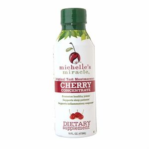 Montmorency Cherry Juice: great anti-inflammatory