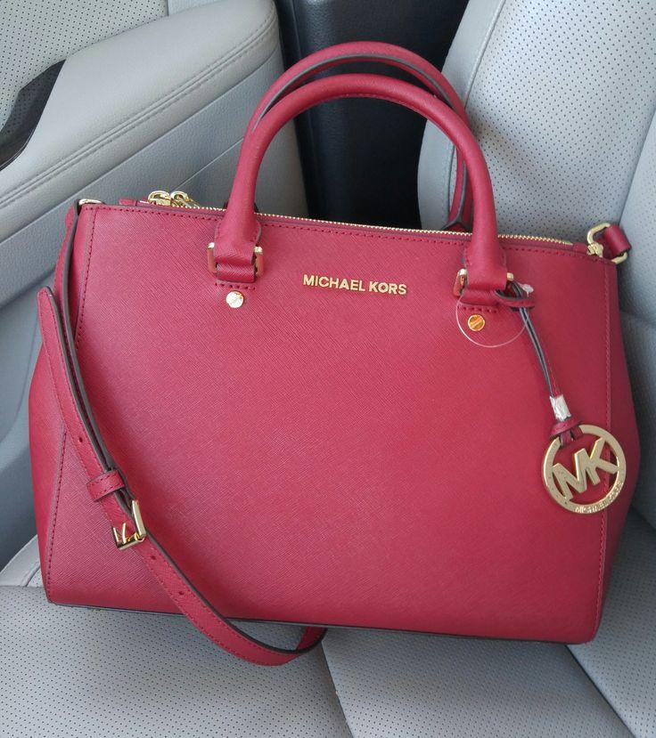 Michael Kors handbags  Very pretty! I love that color!