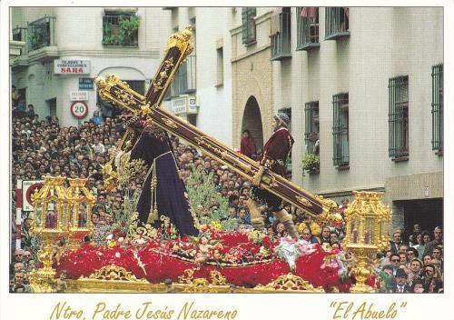 """Nuestro Padre Jesús Nazareno """"El Abuelo"""", Semana Santa de Jaén"""