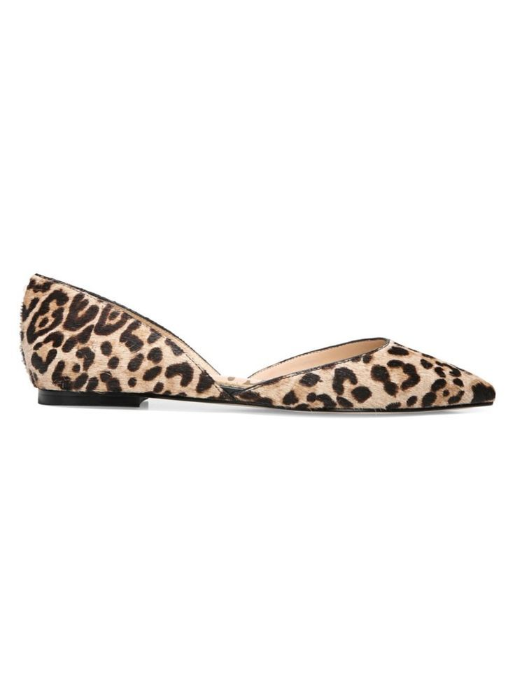 a42784c5bd09 Sam Edelman Women s Rodney Leopard Print Calf Hair d Orsay Flats is  featured on MidlifeMonarch