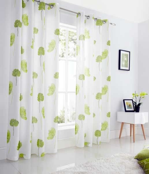 Luxury Tuscany Lime Voile Lined Voile Curtains from Net Curtains Direct Fresh - Luxury curtains direct In 2018