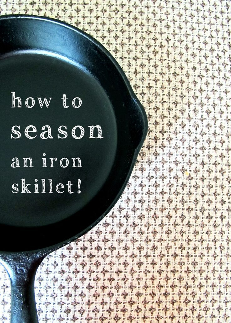 how to clean seasoned cast iron skillet