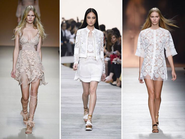 Pizzi & merletti, romanticismi di primavera. Sono un classico intramontabile, il simbolo per eccellenza dello stile più femminile. #romanticismstyle