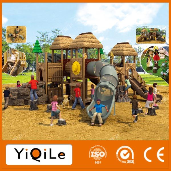 adventure kids outdoor jungle gym kompan playground equipment high quality outdoor wood children playground equipment #Adventure, #Kids