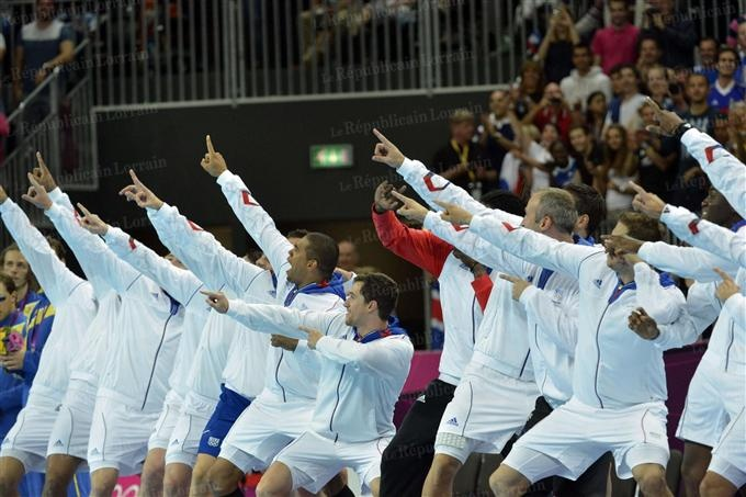 Equipe de France masculine: les Experts/médaille d'Or Handball