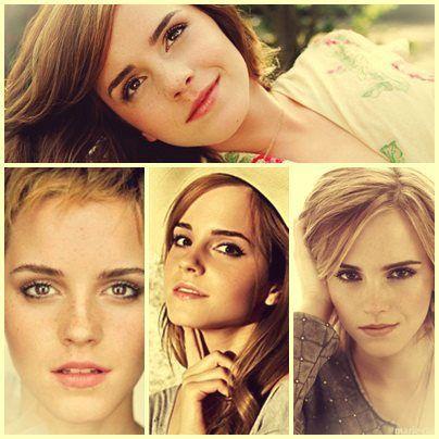 Hermione/Emma Watson fofalinda