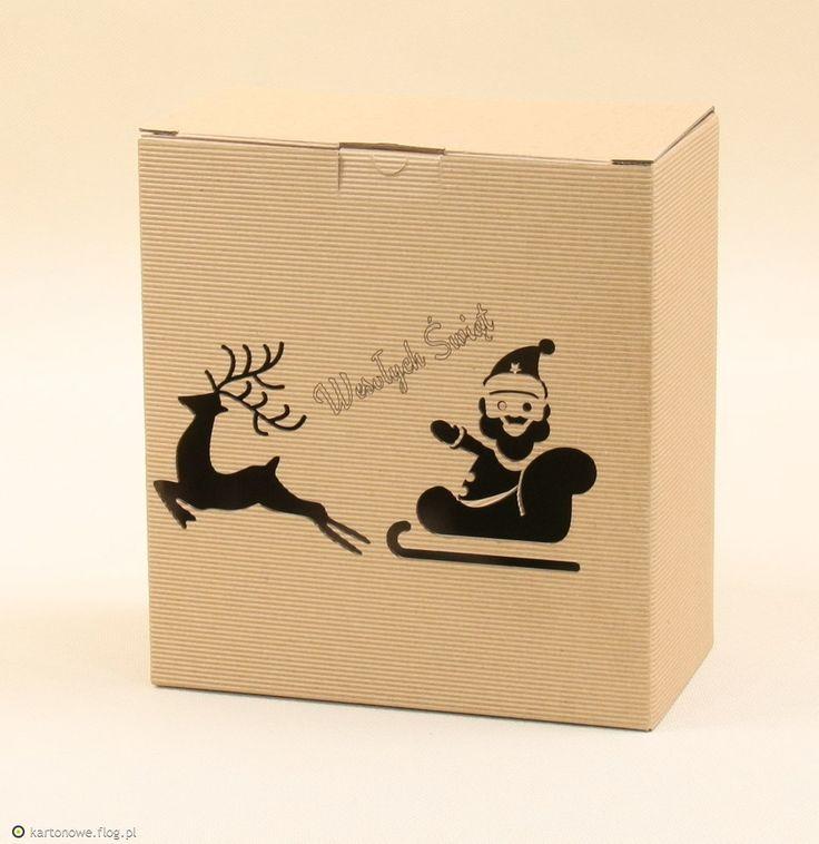 Pudełko na prezenty na święta. Świąteczne opakowania bożonarodzeniowe, czyli pudełka Bożonarodzeniowe jako atraktycjnie opakowanie:...