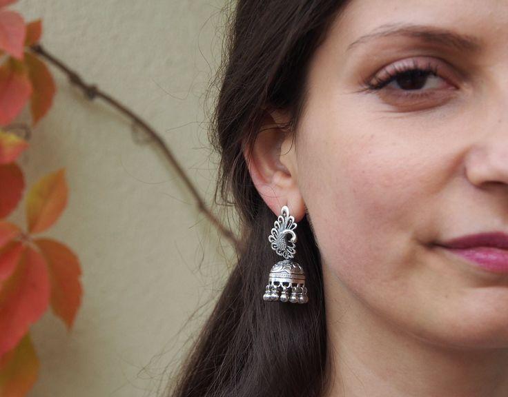 #metaphora #silverjewellery #silverjewelry #earrings #india