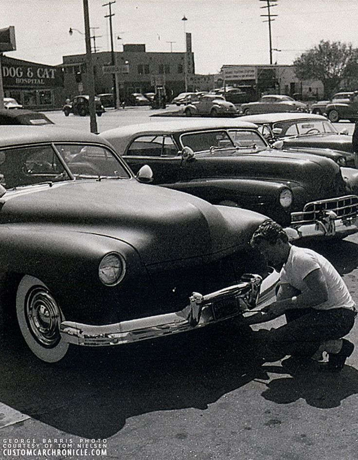 A DAY AT THE BARRIS SHOP  The August 1953 issue of Rod and Custom magazine had a beautiful feature on a day at the Barris Kustom Shop. Lets take a closer look at this and see some never before published photos.