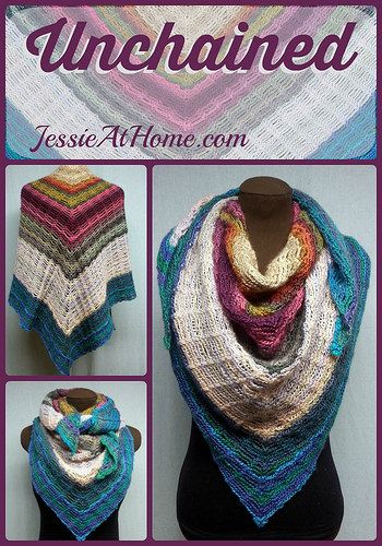 Unchained-by-Jessie-At-Home-Pinterest - if I could ever figure out how to knit or crochet, I'd make this. until then, here it is for you!