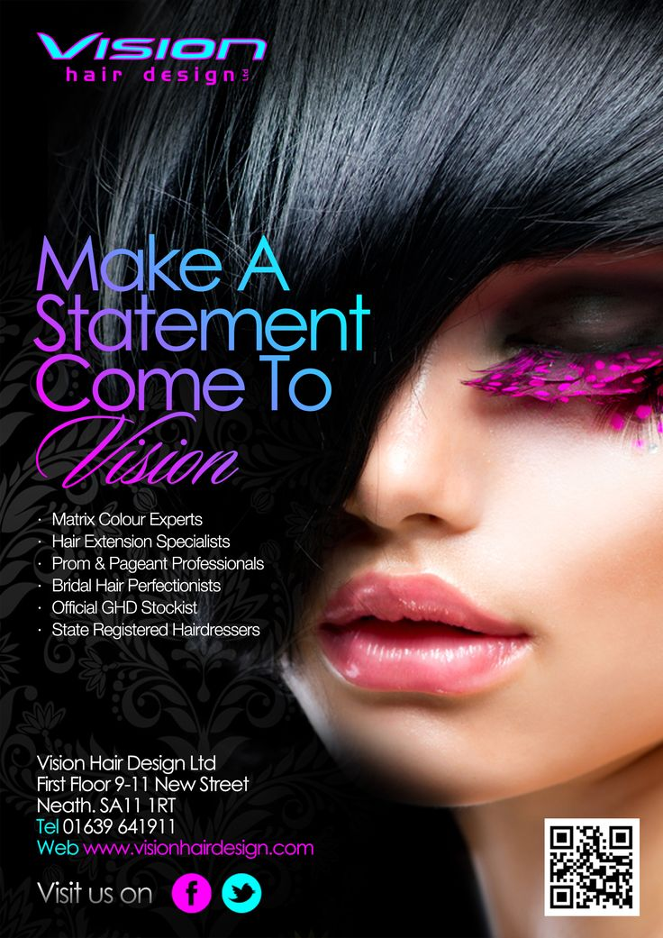 Vision hair design ltd flyer 2013 hair and beauty for A visionary salon