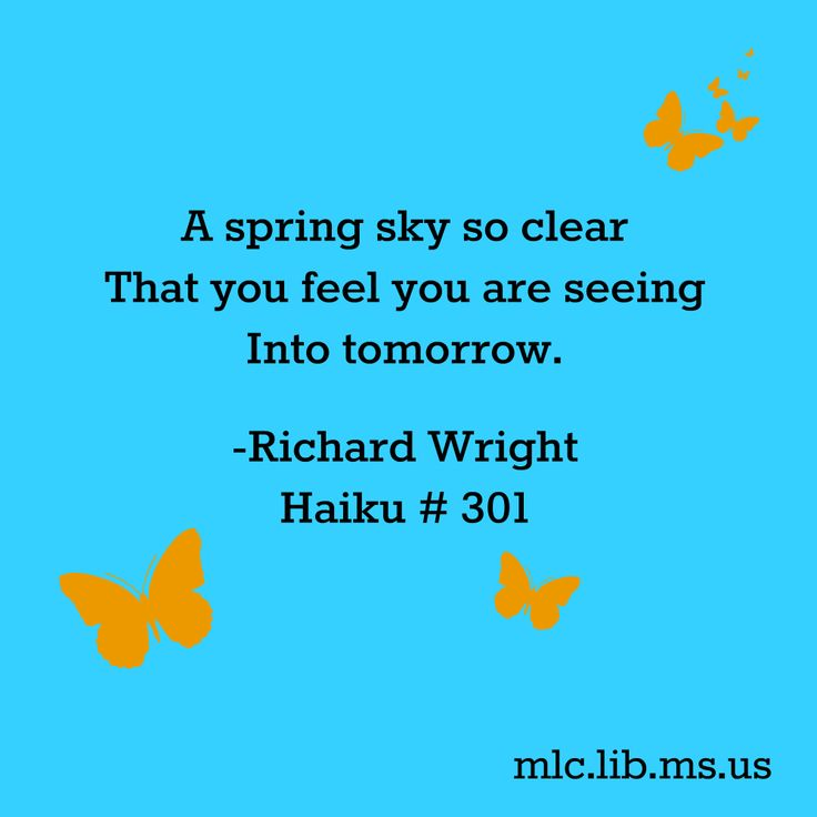 haiku poems about spring - photo #21
