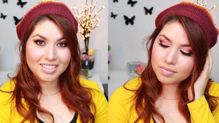 Maquillaje DORADO/GRANATE | MaKillArte
