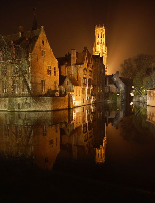 "Bruges, or Brugge, how it's called in Belgium. It is named ""the Venice of the North"" and this medieval city is one of Belgium's crown jewels."