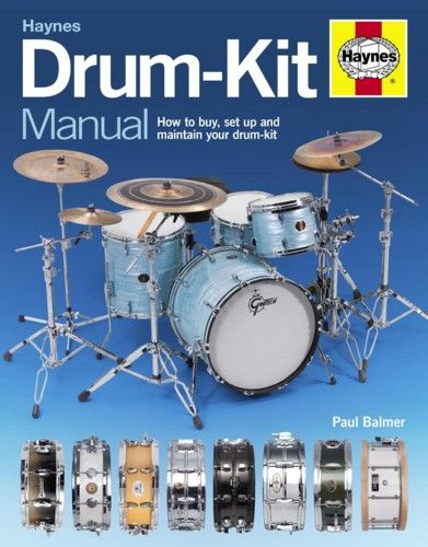 Haynes Drum-Kit Manual. £21.99
