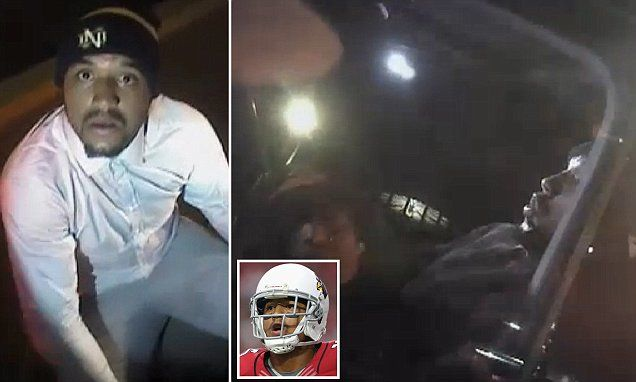 Patriots star Michael Floyd seen asleep at the wheel in Arizona bodycam footage | Daily Mail Online